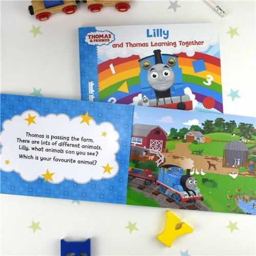 Personalised Thomas The Tank Engine Learning Together